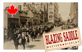 historic calgary stampede parade photo