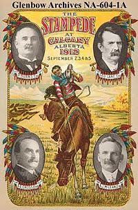 vintage calgary stampede poster
